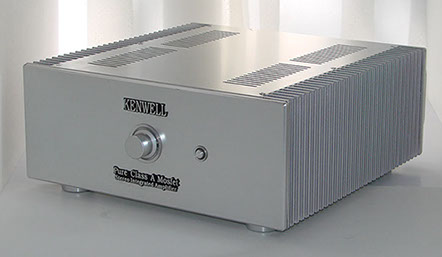 The Kenwell Home Pure Class A Amplifier is Timbre & Luces' model designed for the home for true audiophile sound.